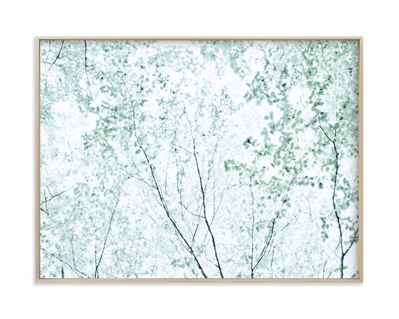 """""""Batik Forest"""" - Art Print by Karen Kaul in beautiful frame options and a variety of sizes."""