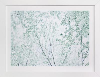 Batik Forest  Art Print