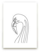 Flamingo Solo by Alicia Youngken