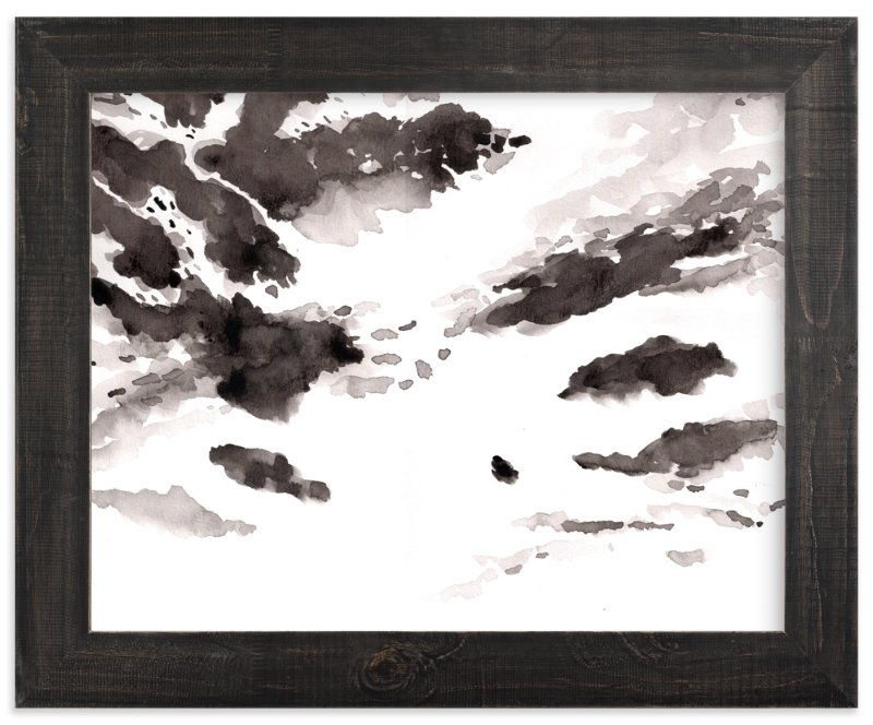 """""""clouds"""" - Art Print by XL in beautiful frame options and a variety of sizes."""