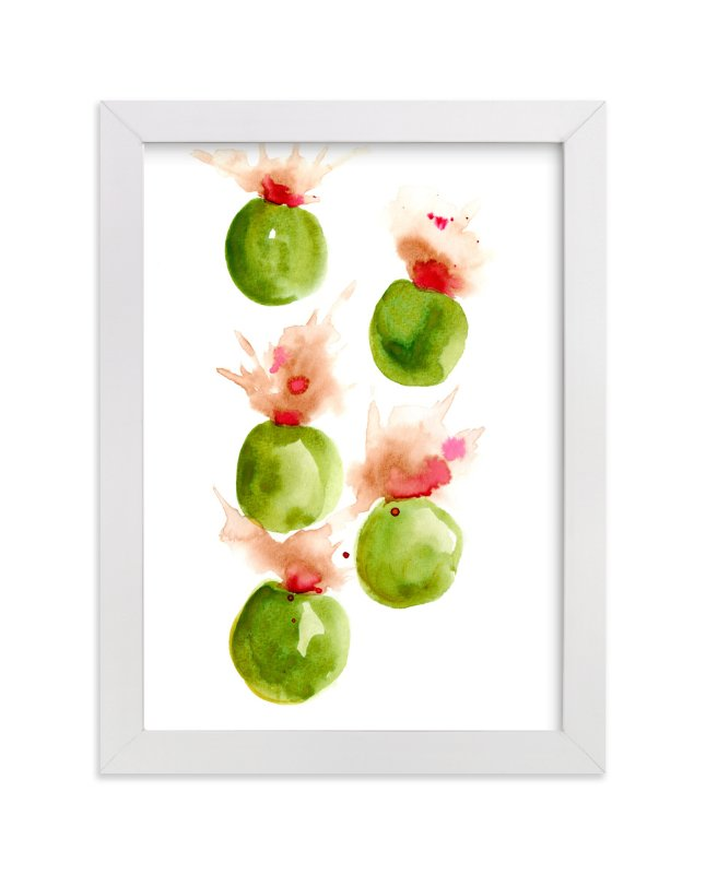 """""""Exploding Olives"""" - Art Print by Me Amelia in beautiful frame options and a variety of sizes."""