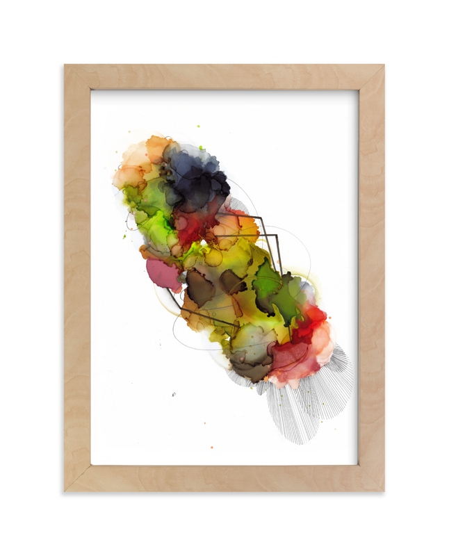 """""""Nebula 5"""" - Art Print by Jaime Derringer in beautiful frame options and a variety of sizes."""