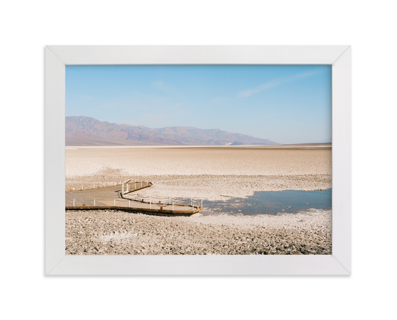 """""""Salt Flats"""" - Art Print by Anna Western in beautiful frame options and a variety of sizes."""