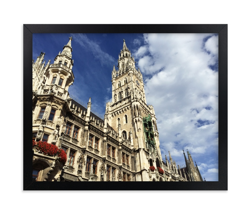 """Architecture of Germany"" - Art Print by Hannah Graham in beautiful frame options and a variety of sizes."