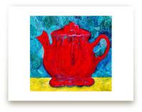 Red Teapot by Charlene Landry