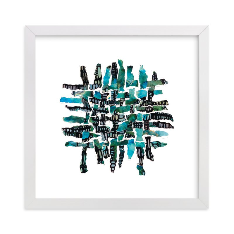 """""""Cellwalk"""" - Art Print by Becky Kisabeth Gibbs in beautiful frame options and a variety of sizes."""