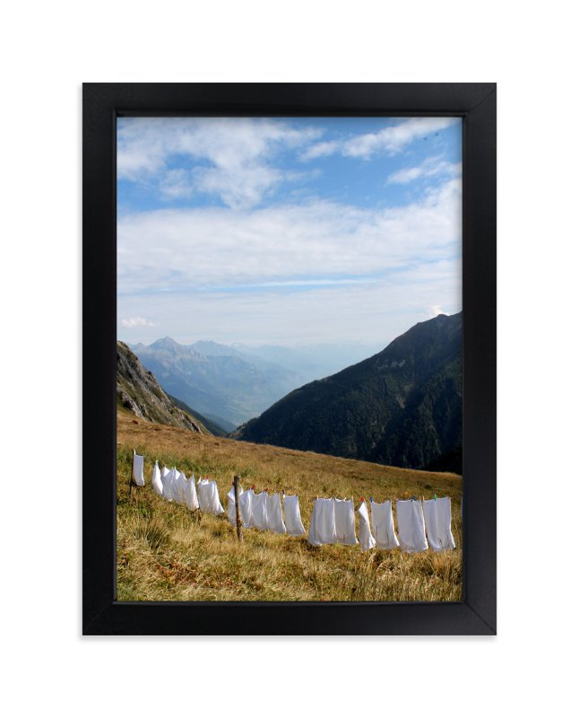 """""""Laundry Day #2"""" - Art Print by CJ Kurtzman Photography in beautiful frame options and a variety of sizes."""