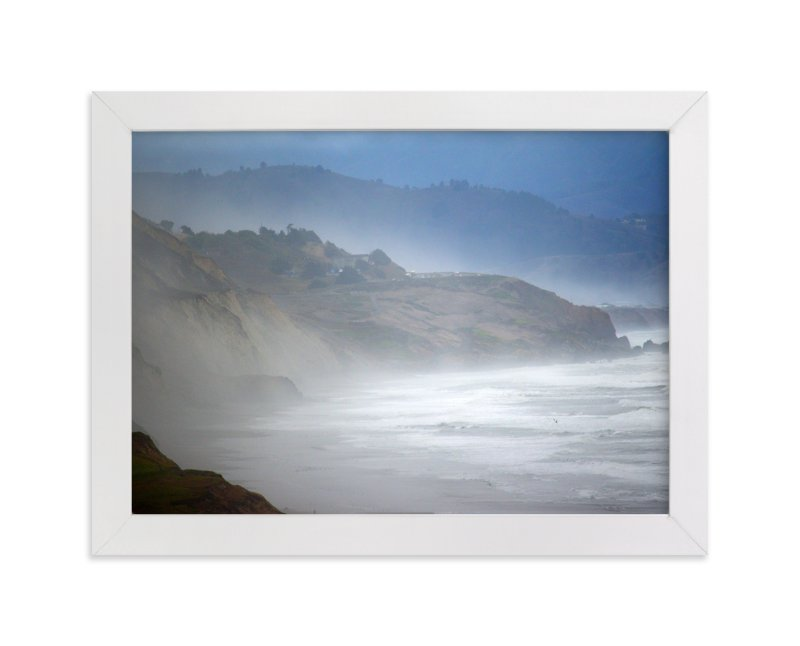 """""""Foggy Pacific"""" - Art Print by NSMARK in beautiful frame options and a variety of sizes."""