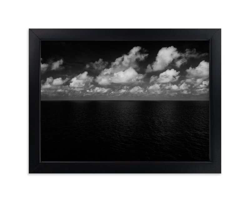 """""""Sea and Clouds"""" - Art Print by Massimiliano Massimo Borelli in beautiful frame options and a variety of sizes."""