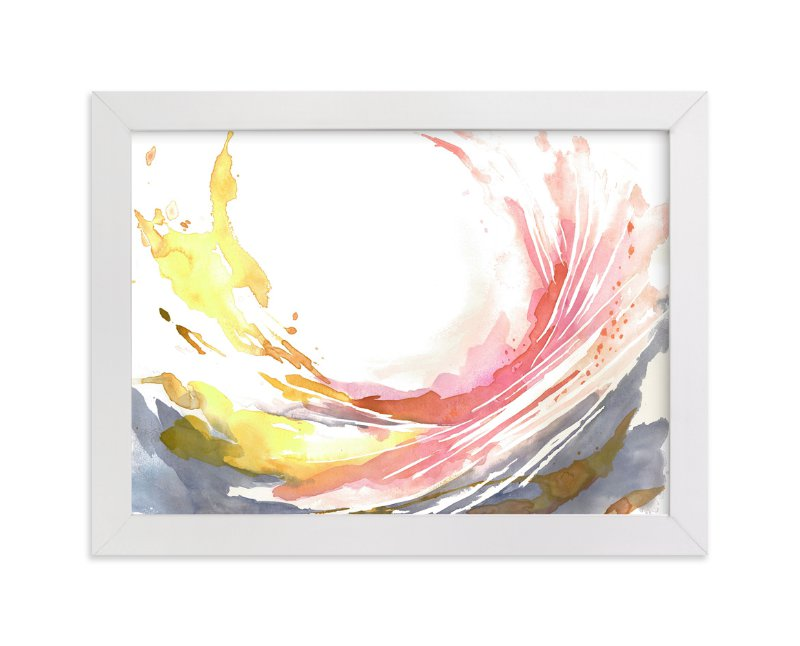 """""""Beginnings"""" - Art Print by Mya Bessette in beautiful frame options and a variety of sizes."""