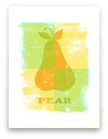 Colorful Pear by Anne Crosse