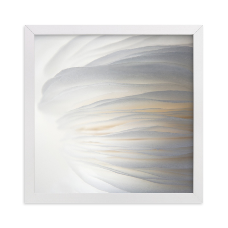 """""""Sky Pebble 8"""" - Art Print by Jenny Phillips in beautiful frame options and a variety of sizes."""