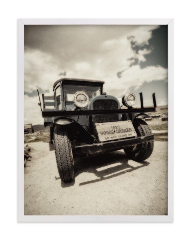 """""""Cars of Bodie, CA :: I"""" - Art Print by Kellie Medivitz in beautiful frame options and a variety of sizes."""