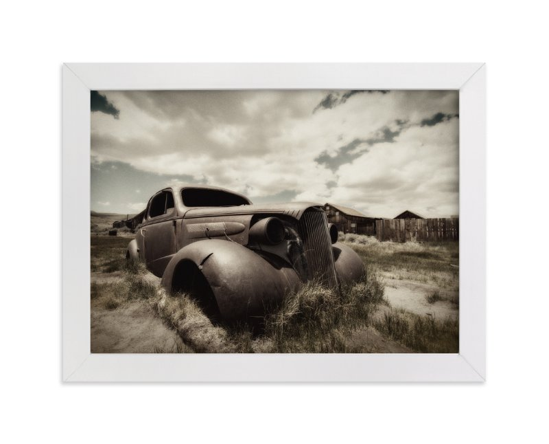 """""""Cars of Bodie, CA :: II"""" - Art Print by Kellie Medivitz in beautiful frame options and a variety of sizes."""