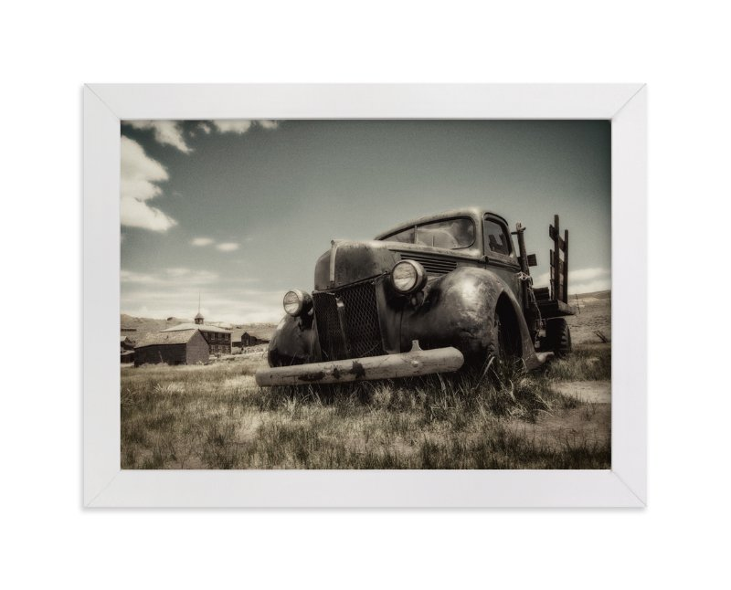 """""""Cars of Bodie, CA :: III"""" - Art Print by Kellie Medivitz in beautiful frame options and a variety of sizes."""