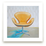Arne Jacobsen Swan Chai... by Laura Browning
