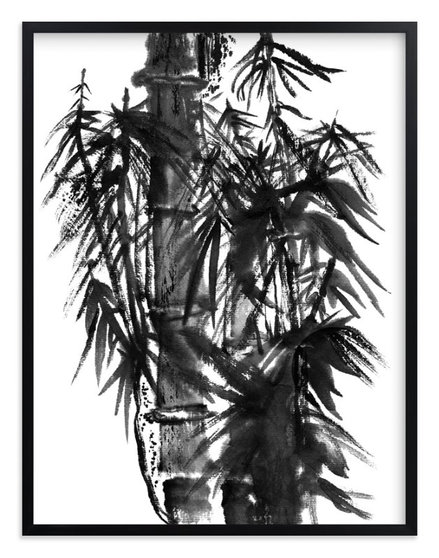"""""""Bamboo in the Breeze"""" - Art Print by Stuart Heir in beautiful frame options and a variety of sizes."""