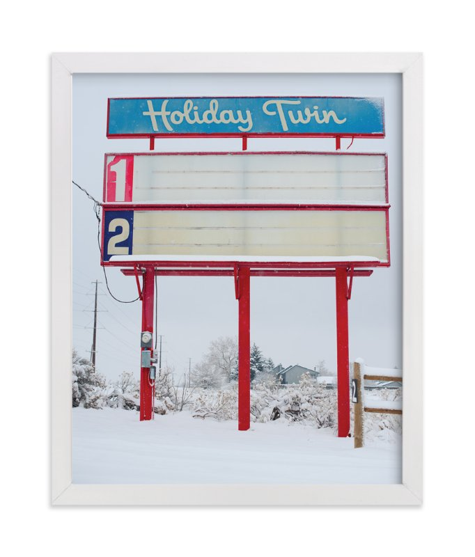 """""""Holiday Twin"""" - Art Print by Jennifer Little in beautiful frame options and a variety of sizes."""
