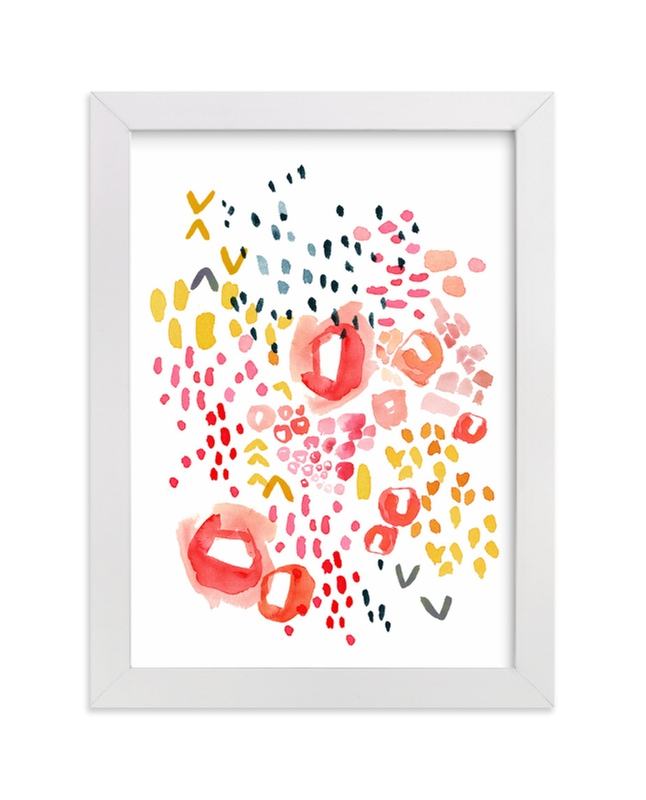 """""""Gesture"""" - Art Print by Kelly Ventura in beautiful frame options and a variety of sizes."""