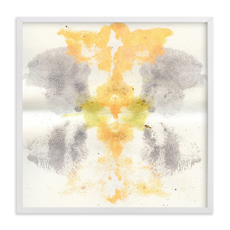 """Soul Meets Sun"" - Art Print by Lauren Packard in beautiful frame options and a variety of sizes."