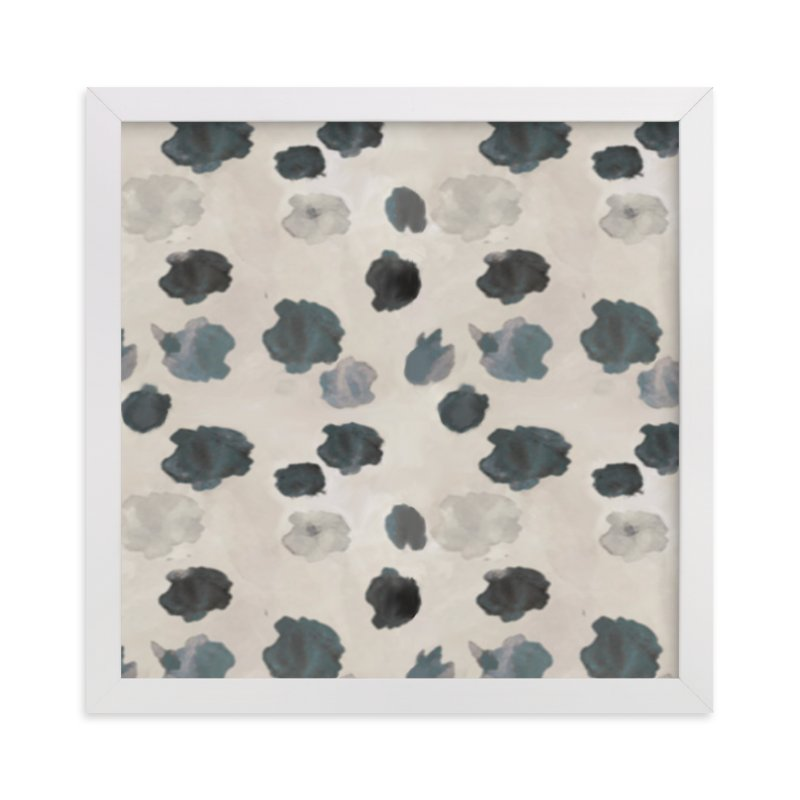 """Dalmatian Dots"" - Art Print by Melissa Marcarelli in beautiful frame options and a variety of sizes."