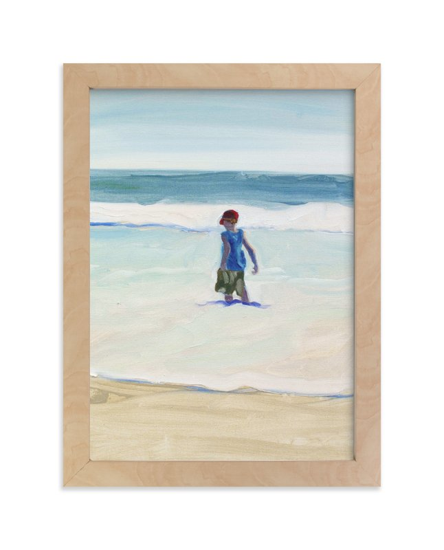 """Oxnard Zachary I"" - Art Print by Annie Seaton in beautiful frame options and a variety of sizes."