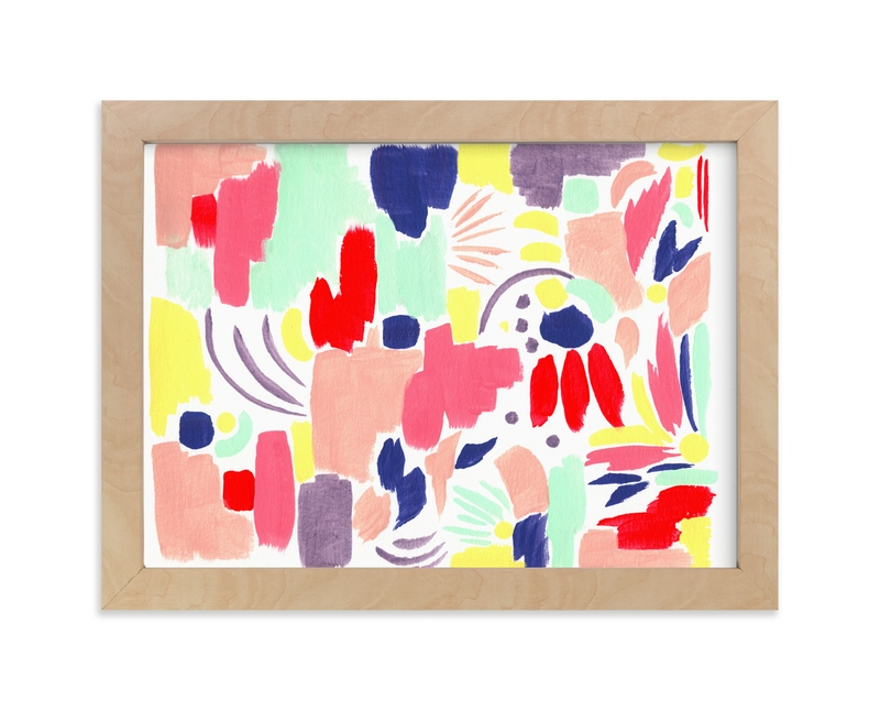 """""""Caribe"""" - Art Print by FERNANDA MARTINEZ in beautiful frame options and a variety of sizes."""