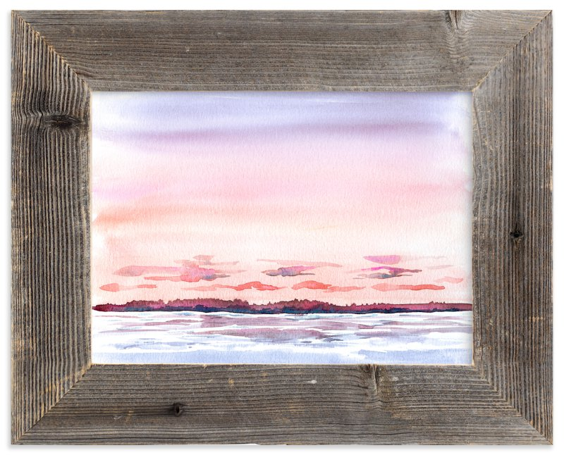 """High Tide"" - Art Print by Field and Sky in beautiful frame options and a variety of sizes."