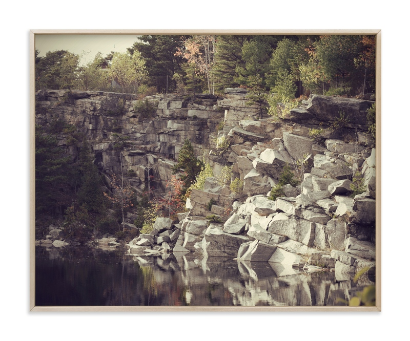 """""""Autumn Reflections"""" - Art Print by Gray Star Design in beautiful frame options and a variety of sizes."""