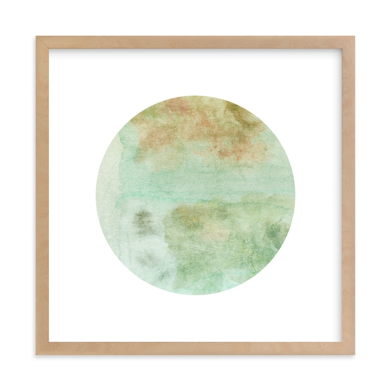 """Mystery Planet #2"" - Art Print by Field and Sky in beautiful frame options and a variety of sizes."