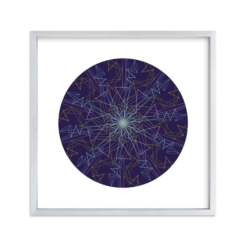 """Planet no.2 Constellation"" - Art Print by Jan Shepherd in beautiful frame options and a variety of sizes."