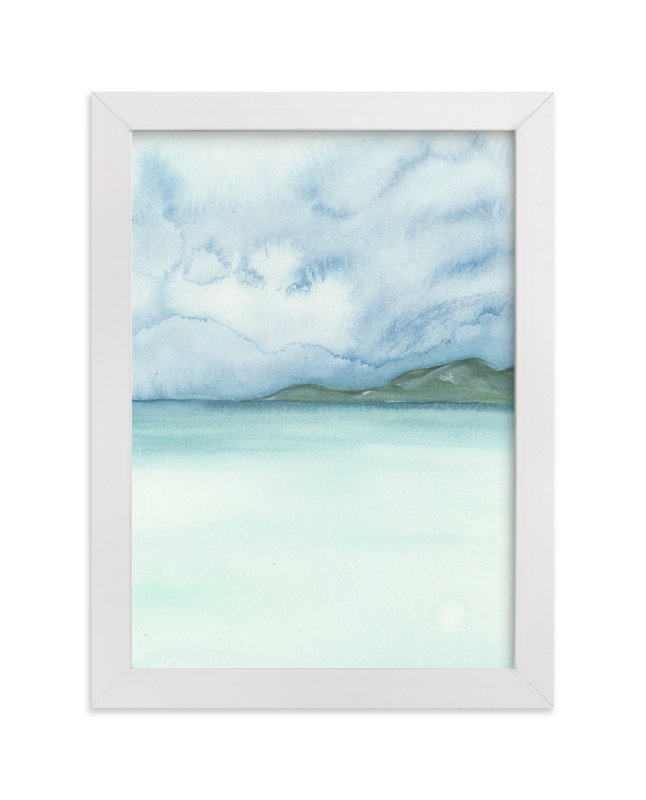 """Playa Three."" - Art Print by Emily Magone in beautiful frame options and a variety of sizes."