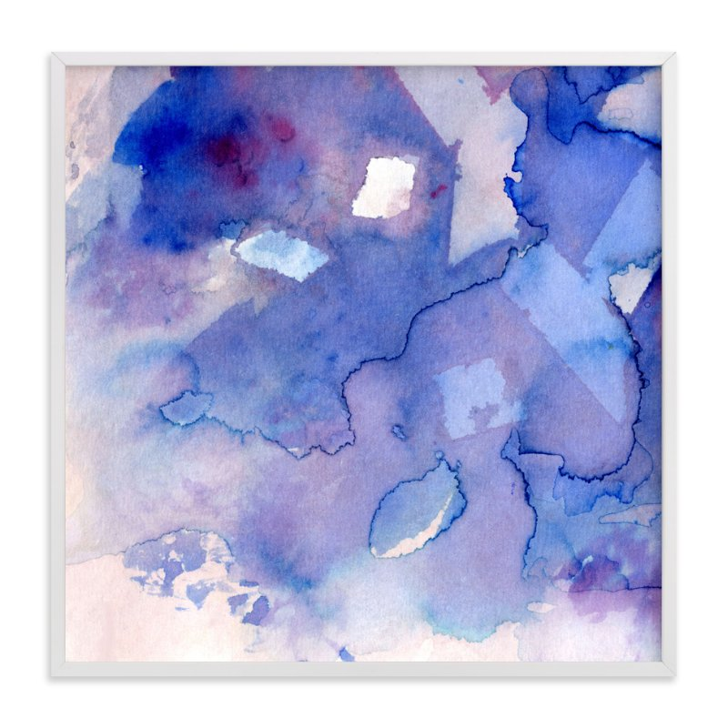 """""""Sky Fields 3"""" - Art Print by Me Amelia in beautiful frame options and a variety of sizes."""