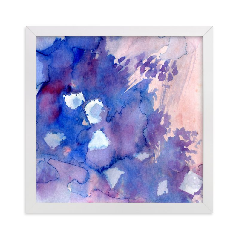 """""""Sky Fields 4"""" - Art Print by Me Amelia in beautiful frame options and a variety of sizes."""