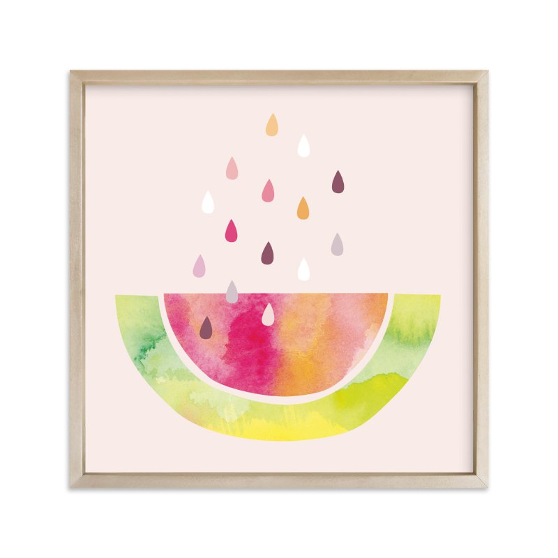 """Feels Like Summer"" - Art Print by sue prue in beautiful frame options and a variety of sizes."