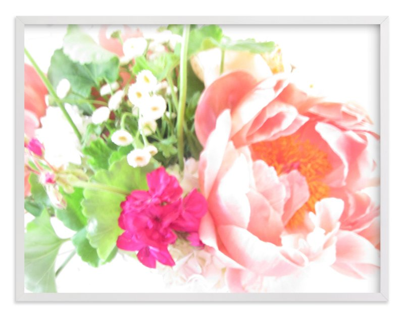 """""""Flamboyance"""" - Art Print by Kate Wong in beautiful frame options and a variety of sizes."""
