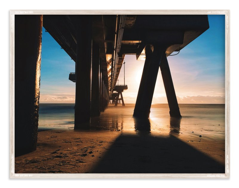 """""""Venice Beach Rays"""" - Art Print by Christian Florin in beautiful frame options and a variety of sizes."""