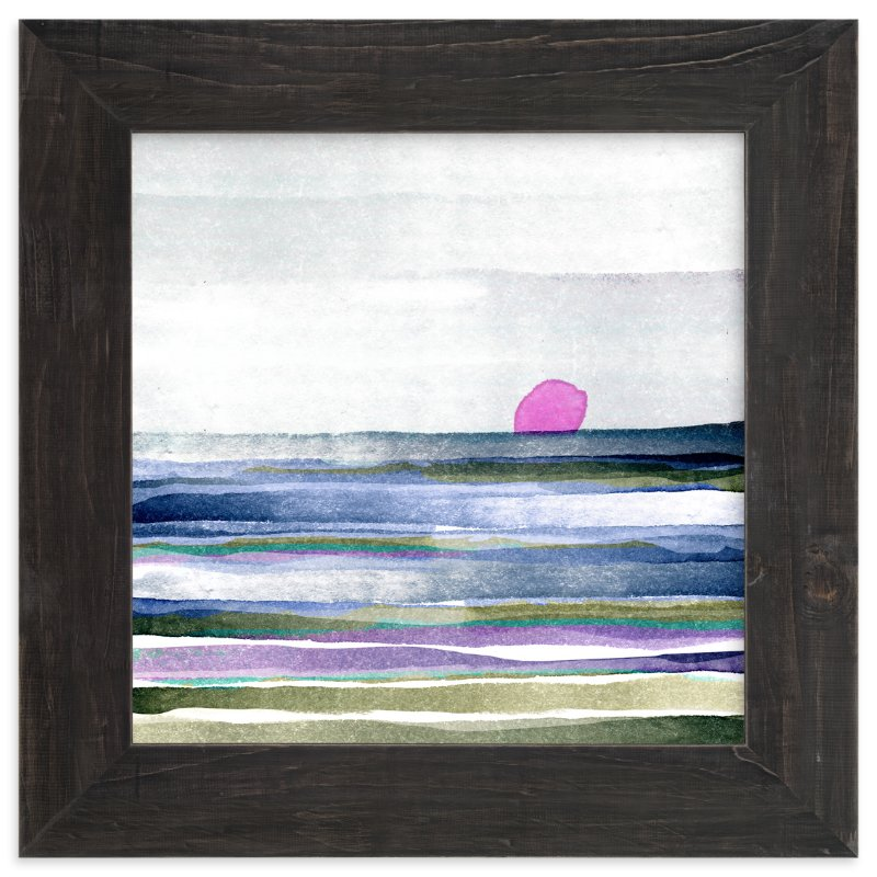 """New Horizon"" - Art Print by Amy Moen in beautiful frame options and a variety of sizes."