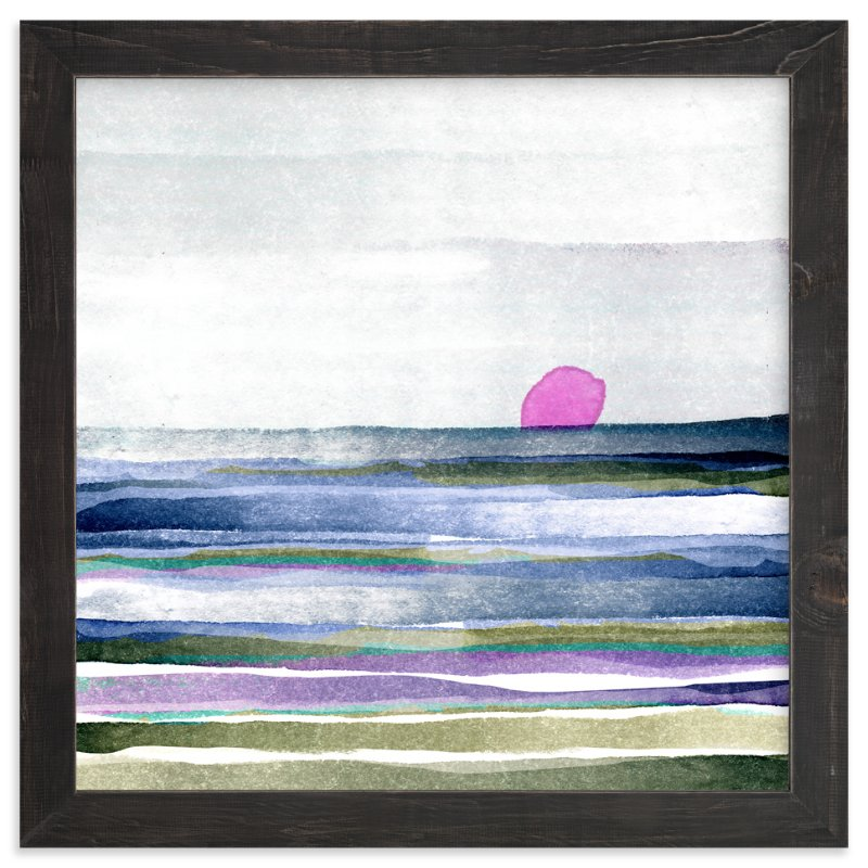 """""""New Horizon"""" - Art Print by Amy Moen in beautiful frame options and a variety of sizes."""