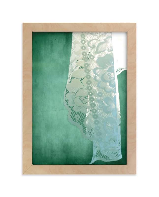 """""""Sunlit Lace"""" - Art Print by Debra Pruskowski in beautiful frame options and a variety of sizes."""