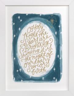 O Holy Night Sky  Art Print