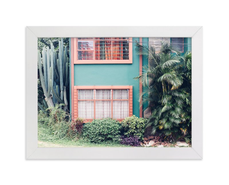 """""""La Casita"""" - Art Print by Kaitlin Rebesco in beautiful frame options and a variety of sizes."""