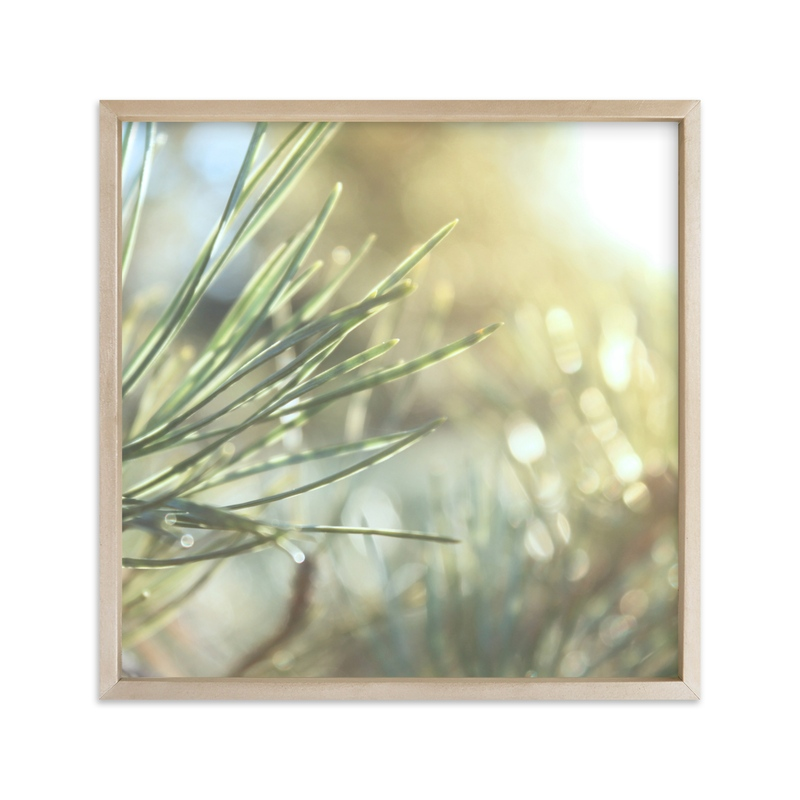"""""""That Warm Pine Smell"""" - Art Print by Karen Kaul in beautiful frame options and a variety of sizes."""