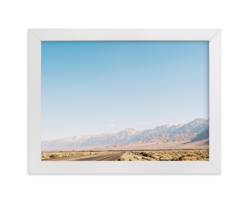 """Highway 395"" - Art Print by Anna Western in beautiful frame options and a variety of sizes."