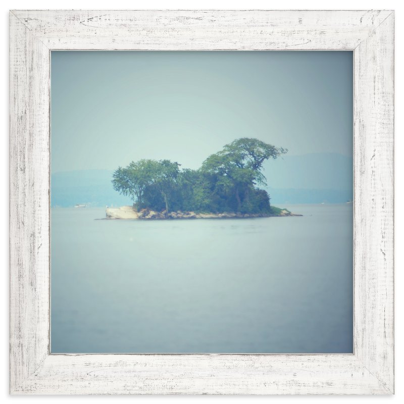 """Island"" - Art Print by Smile Peace Love in beautiful frame options and a variety of sizes."