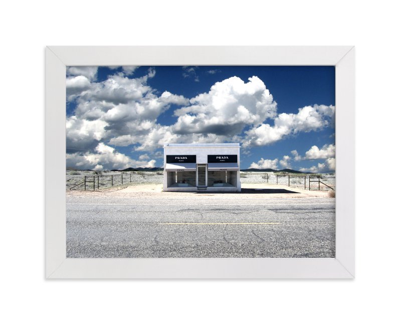 """""""Prada, TX"""" - Art Print by Maja Cunningham in beautiful frame options and a variety of sizes."""