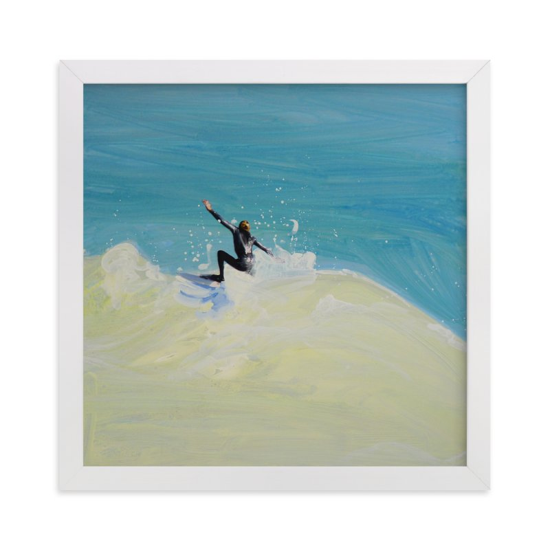 """""""Slice"""" - Art Print by Annie Seaton in beautiful frame options and a variety of sizes."""
