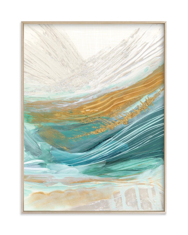 """Surfacing"" - Art Print by Heather M. Roberts in beautiful frame options and a variety of sizes."
