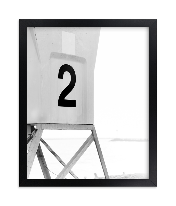 """""""Tower 2 Three"""" - Art Print by Kamala Nahas in beautiful frame options and a variety of sizes."""