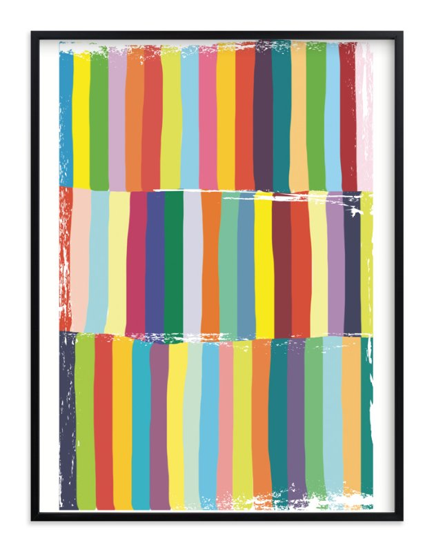 """Color Play"" - Art Print by Gaucho Works in beautiful frame options and a variety of sizes."